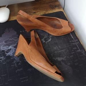 Miu Miu - Leather / Slingback Sandals / Sz. 41 (9)